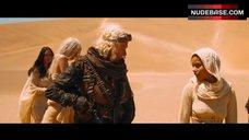 Zoe Kravitz Nipples Through Dress – Mad Max: Fury Road