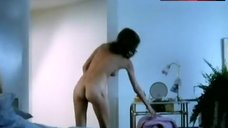 Maud Adams Gets out of Bed Full Nude – Tattoo