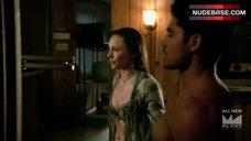 8. Briana Evigan in Bra – From Dusk Till Dawn: The Series