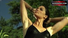 Kate French Hot in Black Swimsuit – The Red House