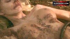 Savannah Costello Lying Nude on Grass – Carver