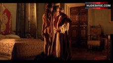 Claire Keim Nude Ass and Side Boob – Caravaggio