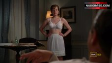 Elisabeth Moss Underwear Scene – Mad Men