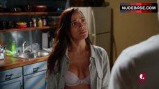 Dania Ramirez Lingerie Scene – Devious Maids