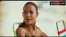 Dania Ramirez Bikini Scene – American Reunion