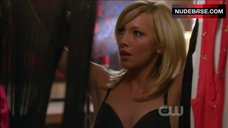 Katie Cassidy Sexy in Black Lingerie – Melrose Place