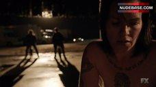 Franka Potente Hot Scene – The Bridge
