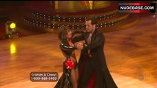 5. Cheryl Burke Dance in Lingerie – Dancing With The Stars