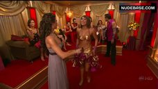 1. Cheryl Burke Breasts in Gold Bra  – Dancing With The Stars