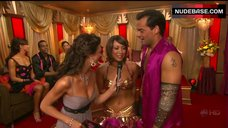 3. Cheryl Burke Breasts in Gold Bra  – Dancing With The Stars