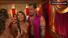 4. Cheryl Burke Breasts in Gold Bra  – Dancing With The Stars