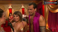 Cheryl Burke Breasts in Gold Bra  – Dancing With The Stars