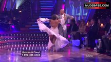 1. Cheryl Burke Upskirt on Stage – Dancing With The Stars