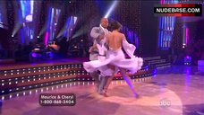 10. Cheryl Burke Upskirt on Stage – Dancing With The Stars