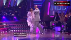 2. Cheryl Burke Upskirt on Stage – Dancing With The Stars