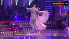 3. Cheryl Burke Upskirt on Stage – Dancing With The Stars