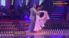 4. Cheryl Burke Upskirt on Stage – Dancing With The Stars