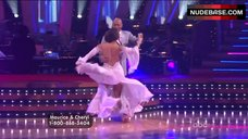 5. Cheryl Burke Upskirt on Stage – Dancing With The Stars