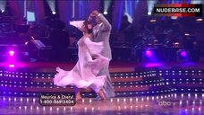 6. Cheryl Burke Upskirt on Stage – Dancing With The Stars