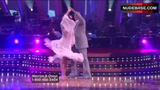 7. Cheryl Burke Upskirt on Stage – Dancing With The Stars