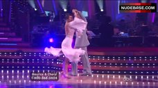8. Cheryl Burke Upskirt on Stage – Dancing With The Stars
