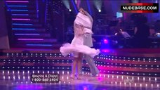 9. Cheryl Burke Upskirt on Stage – Dancing With The Stars