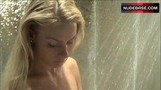 6. Misty Meeler Topless in Shower – Knock Knock