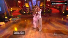 3. Audrina Patridge in Shine Bikini Top – Dancing With The Stars
