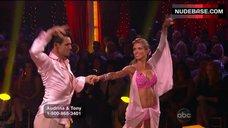 4. Audrina Patridge in Shine Bikini Top – Dancing With The Stars