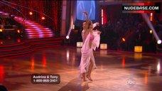 7. Audrina Patridge in Shine Bikini Top – Dancing With The Stars