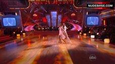 9. Audrina Patridge in Shine Bikini Top – Dancing With The Stars