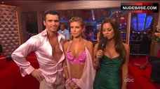 1. Audrina Patridge Cleavage in Bra – Dancing With The Stars