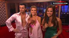 10. Audrina Patridge Cleavage in Bra – Dancing With The Stars