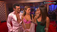 2. Audrina Patridge Cleavage in Bra – Dancing With The Stars