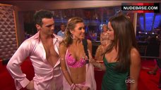3. Audrina Patridge Cleavage in Bra – Dancing With The Stars