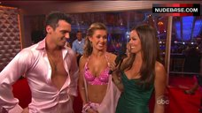 4. Audrina Patridge Cleavage in Bra – Dancing With The Stars