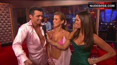 5. Audrina Patridge Cleavage in Bra – Dancing With The Stars