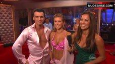 6. Audrina Patridge Cleavage in Bra – Dancing With The Stars