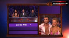 7. Audrina Patridge Cleavage in Bra – Dancing With The Stars