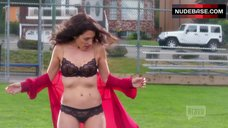Lisa Edelstin In Sexy Lingerie Outdoor – Girlfriends' Guide To Divorce