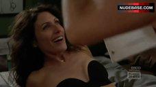 Lisa Edelstin in Black Strapless Bra – Girlfriends' Guide To Divorce