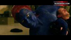 Jennifer Lawrence Sexy Scene – X-Men: Days Of Future Past