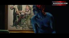 Jennifer Lawrence Intimate Scene – X-Men: Days Of Future Past