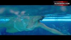 Jennifer Lawrence Swims in Pool – Passengers