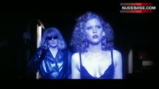Nancy Allen in Sexy Black Lingerie – Dressed To Kill