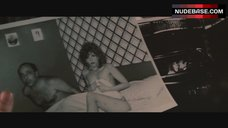 7. Nancy Allen Covers Naked Tits on Photo – Blow Out