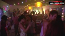 1. Ryder Skye Topless Scene – Dexter