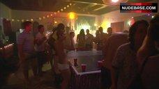 4. Ryder Skye Topless Scene – Dexter
