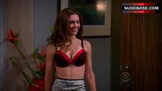 Brooke Lyons in Lingerie – Two And A Half Men