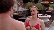 Amanda Schull Bikini Scene – One Tree Hill